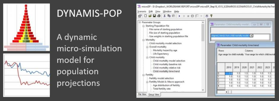 DYNAMIS-POP: Dynamic micro-simulation for population projections