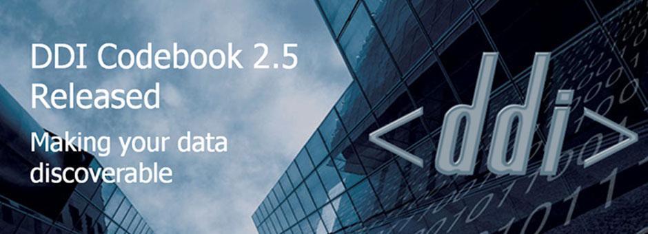 DDI Codebook 2.5